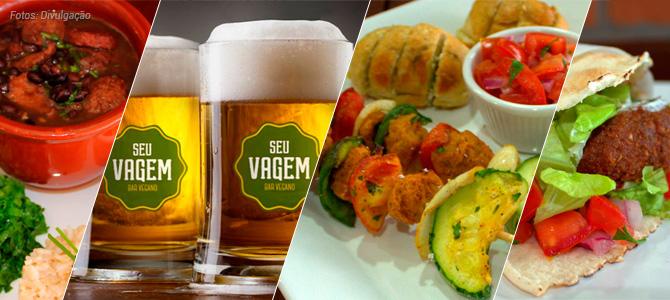 Primeiro bar vegano do Brasil oferece comida de boteco e chope artesanal em Palhoça-SC