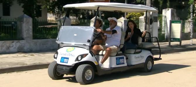 Após libertação de cavalos de uso no turismo, Ilha de Paquetá recebe 'charretes elétricas'