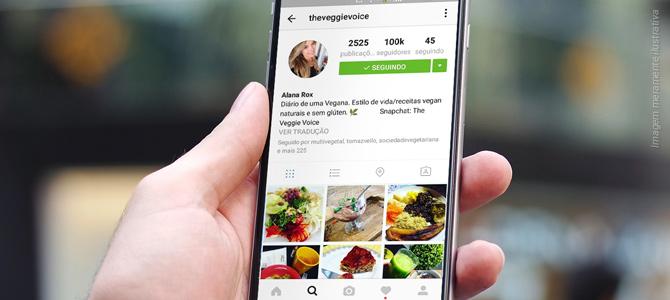 Maior canal brasileiro de receitas e dicas veganas no Instagram alcança 100.000 seguidores
