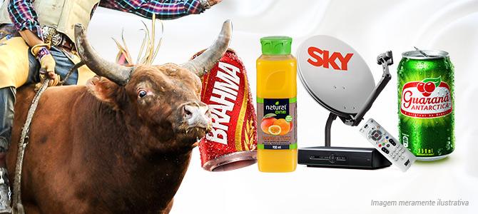Conheça marcas que patrocinam a exploração de animais para o maior evento de rodeio do país